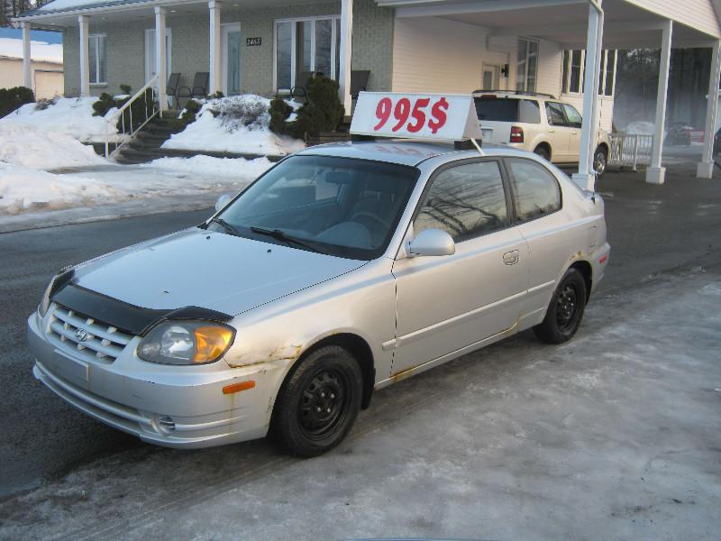 Hyundai Accent GS 2004 à vendre à Ste-Sophie PETIT BUDGET !!!