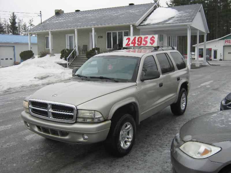 Dodge Durango SLT 4×4 2002 à vendre à Ste-Sophie PETIT BUDGET !!!