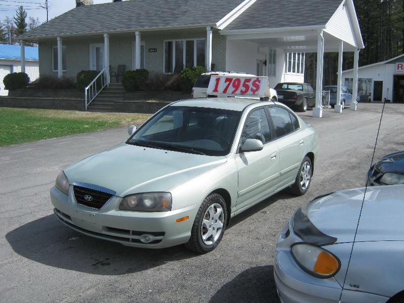 Hyundai Elantra Ve 2004 à vendre à Ste-Sophie PETIT BUDGET !!!