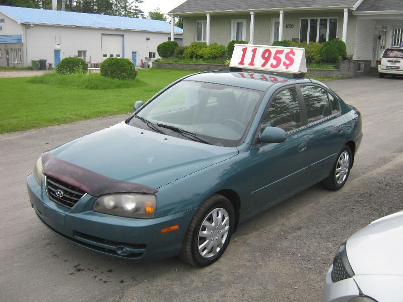 Hyundai Elantra GL 2004 à vendre à Ste-Sophie PETIT BUDGET !!!