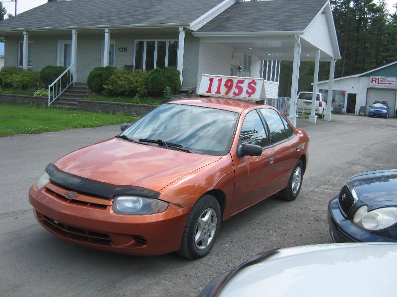 Chevrolet Cavalier VL 2004 à vendre à Ste-Sophie PETIT BUDGET !!!
