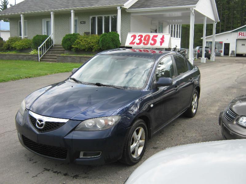 Mazda 3 GX 2008 à vendre à Ste-Sophie PETIT BUDGET !!!
