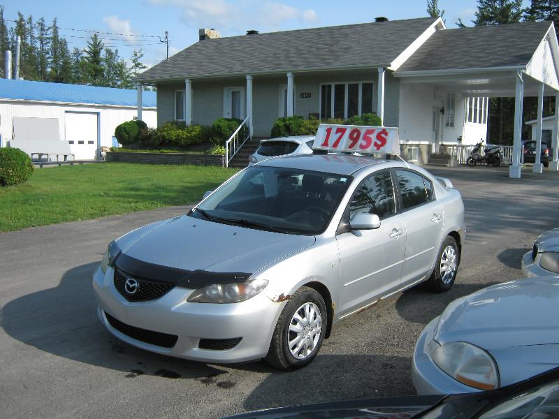 Mazda 3 GS 2005 à vendre à Ste-Sophie PETIT BUDGET !!!