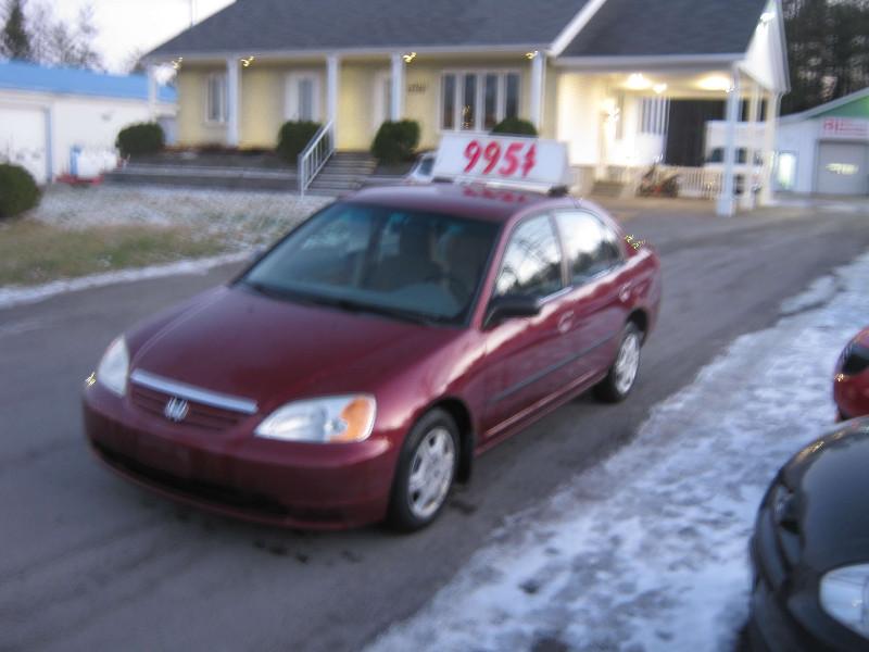 Honda Civic DX-G 2002 à vendre à Ste-Sophie PETIT BUDGET !!!