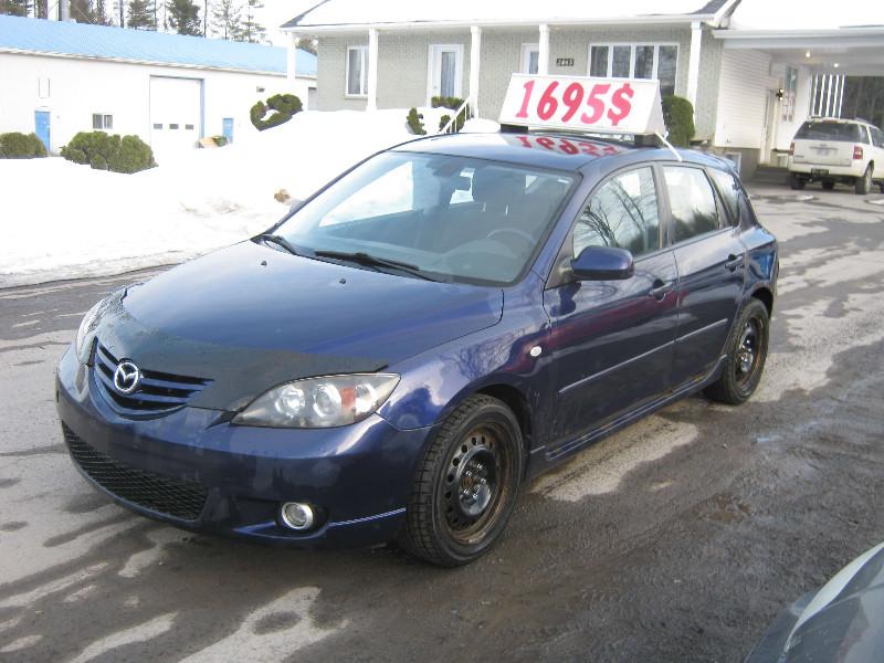 Mazda 3 Sport GS 2006 à vendre à Ste-Sophie PETIT BUDGET !!!