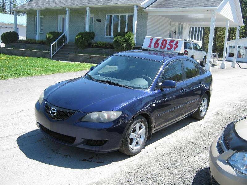 Mazda 3 GS 2004 à vendre à Ste-Sophie PETIT BUDGET !!!