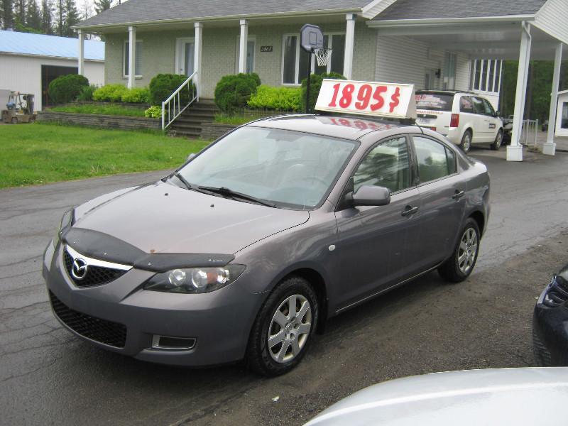 Mazda 3 Gx 2007 à vendre à Ste-Sophie PETIT BUDGET !!!