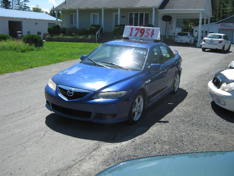 Mazda 6 GT 2005 à vendre à Ste-Sophie PETIT BUDGET !!!