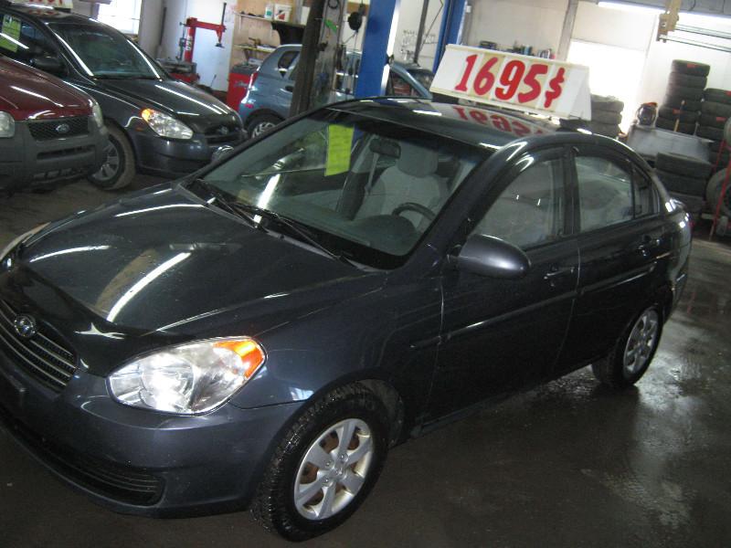 Hyundai Accent GL 2009 à vendre à Ste-Anne-des-Plaines PETIT BUDGET !!!