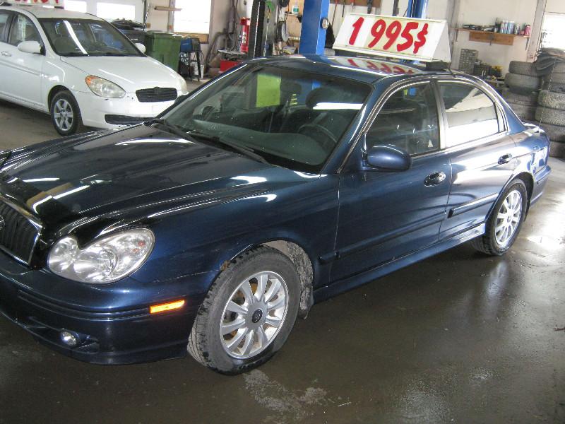 Hyundai Sonata GL V6 2004 à vendre à Ste-Anne-des-Plaines PETIT BUDGET !!!