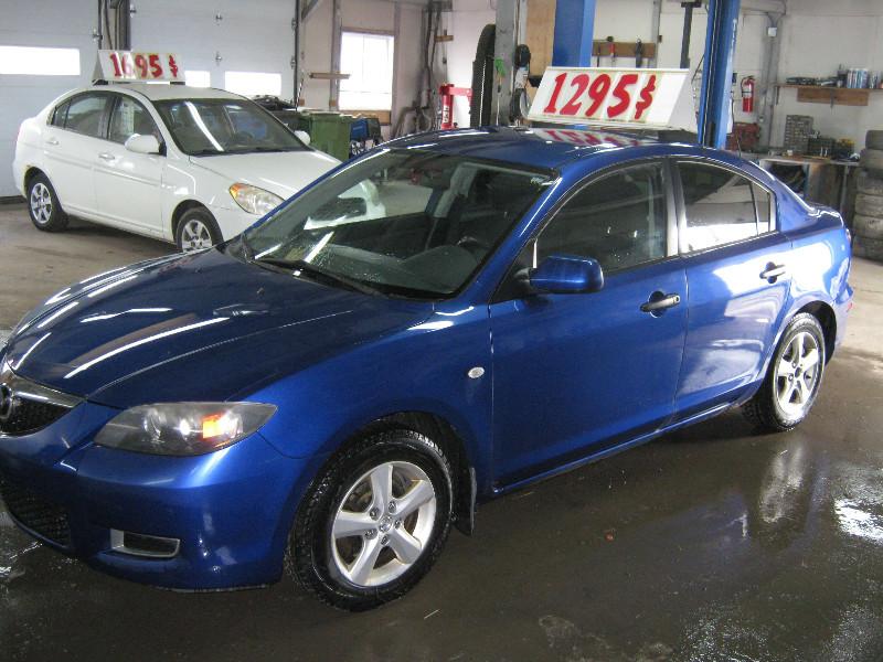 Mazda 3 GX 2008 à vendre à Ste-Anne-des-Plaines PETIT BUDGET !!!