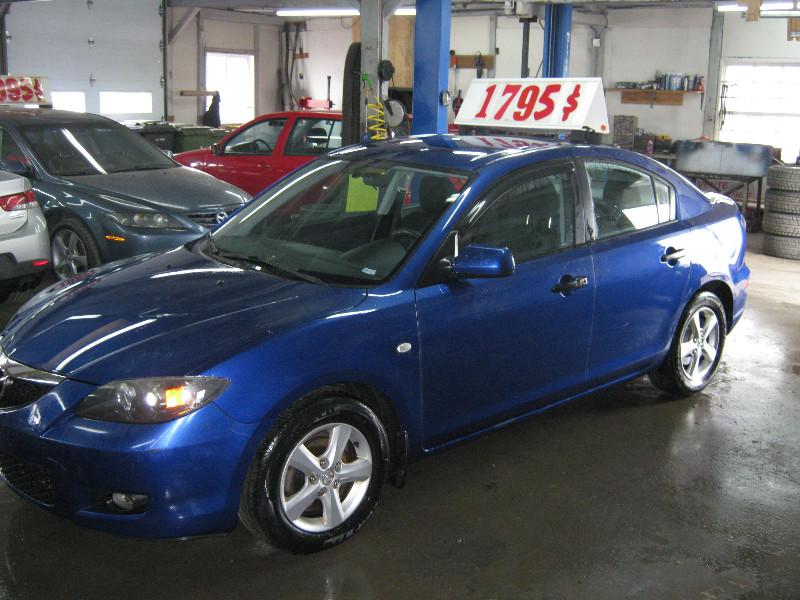 Mazda 3 GX 2009 à vendre à Ste-Anne-des-Plaines PETIT  BUDGET !!!