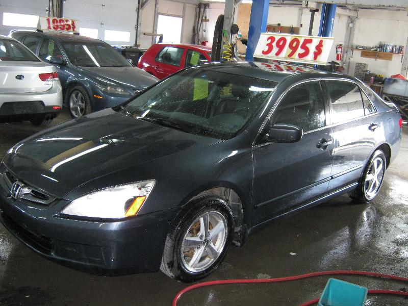 Honda Accord EX-L 2005 à vendre à Ste-Anne-des-Plaines PETIT BUDGET !!!