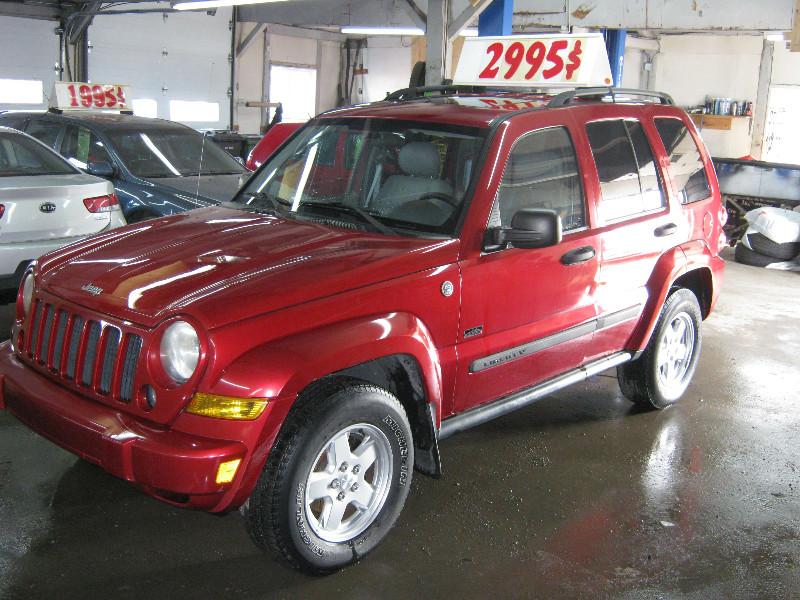 Jeep Liberty Rocky Mountain 2007 à vendre à Ste-Anne-des-Plaines PETIT BUDGET !!!