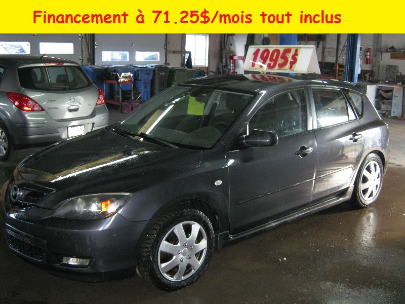 Mazda 3 GS Sport 2008 à vendre à Ste-Anne-des-Plaines PETIT BUDGET !!!