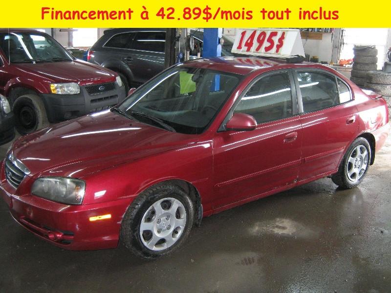 Hyundai Elantra GL 2006 à vendre à Ste-Anne-des-Plaines PETIT BUDGET !!!