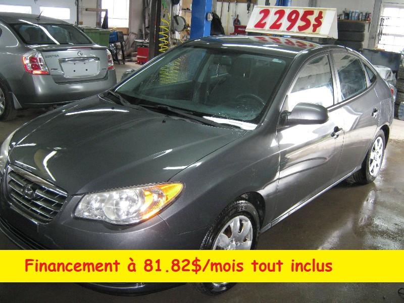 Hyundai Elantra GL 2007 à vendre à Ste-Anne-des-Plaines PETIT BUDGET !!!