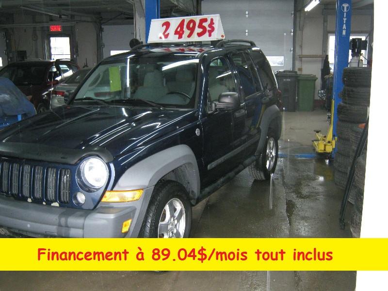 Jeep Liberty Sport 2007 à vendre à Ste-Anne-des-Plaines PETIT BUDGET !!!