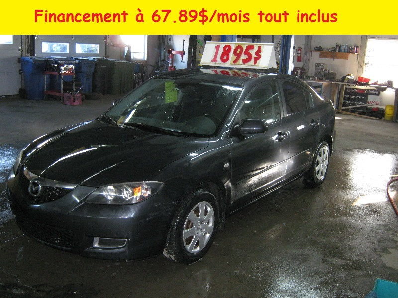 Mazda 3 GS 2008 à vendre à Ste-Anne-des-Plaines PETIT BUDGET !!!