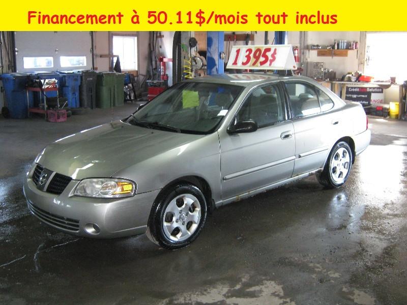 Nissan Sentra S 2004 à vendre à Ste-Anne-des-Plaines PETIT BUDGET !!!