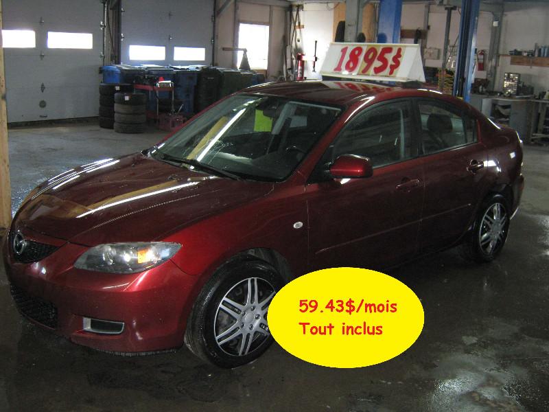 Mazda 3 GS 2009 à vendre à Ste-Anne-des-Plaines PETIT BUDGET !!!