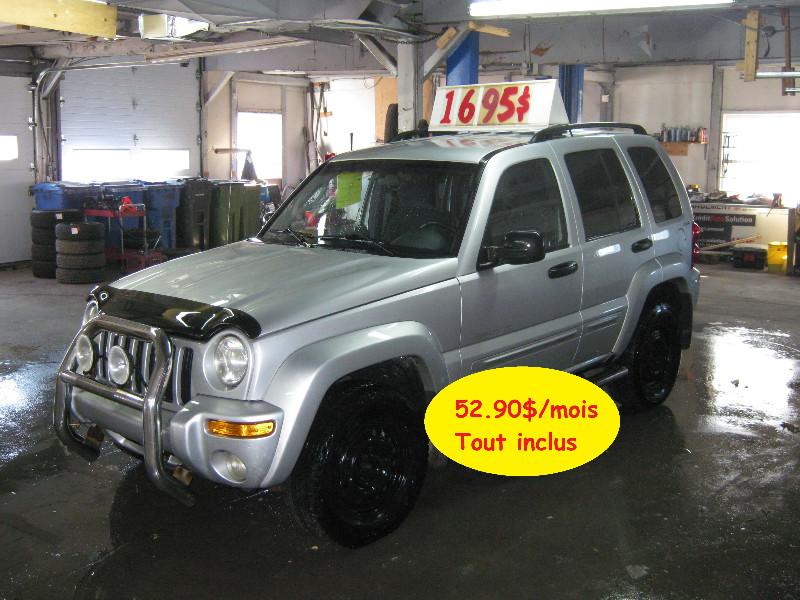 Jeep Liberty Limited 2002 à vendre à Ste-Anne-des-Plaines PETIT BUDGET !!!