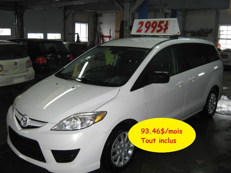 Mazda 5 GS 2010 à vendre à Ste-Anne-des-Plaines PETIT BUDGET !!!