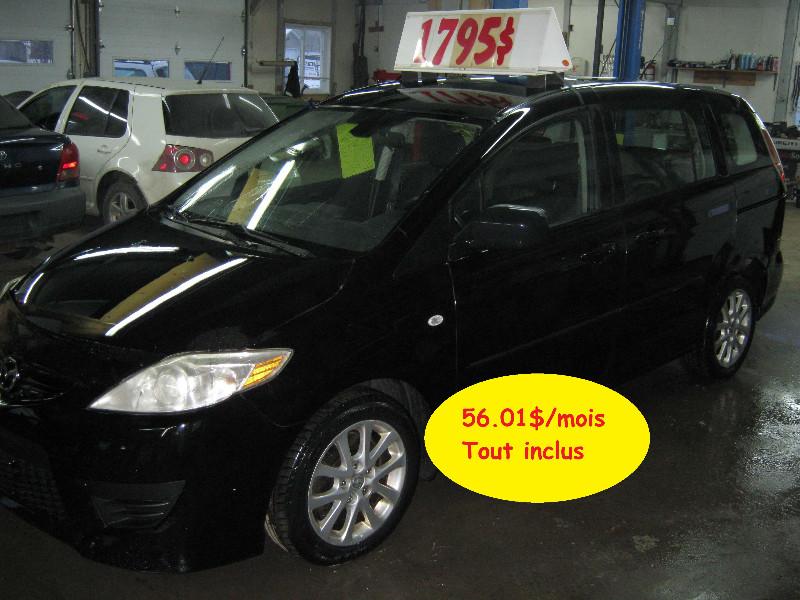 Mazda 5 GS 2008 à vendre à Ste-Anne-des-Plaines PETIT BUDGET !!!