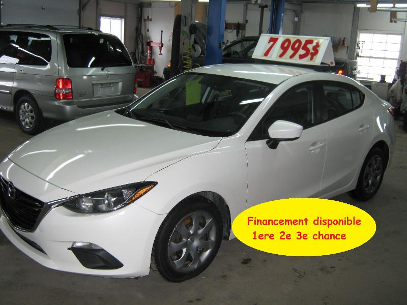 Mazda 3 GX 2014 à vendre à Ste-Anne-des-Plaines PETIT BUDGET !!!