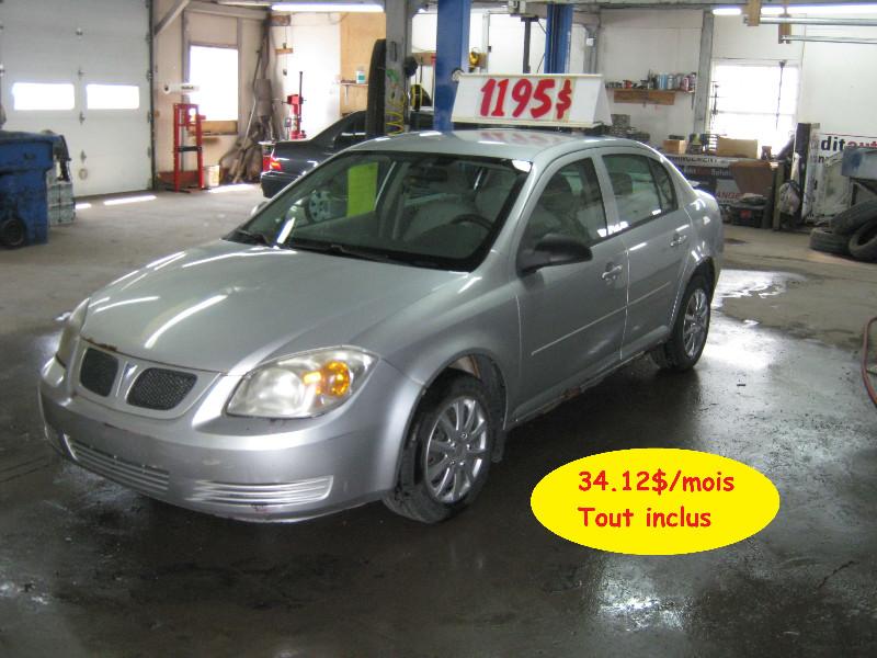 Pontiac G5 SE 2007 à vendre à Ste-Anne-des-Plaines PETIT BUDGET !!!