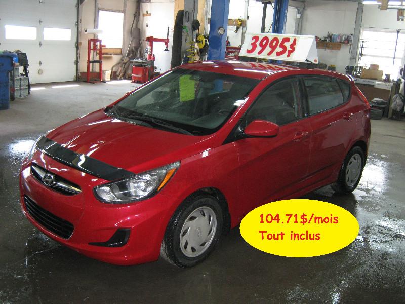 Hyundai Accent 5 GL 2012 à vendre à Ste-Anne-des-Plaines PETIT BUDGET !!!