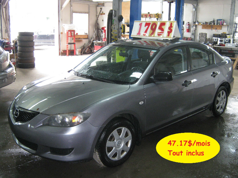 Mazda 3 GX 2006 à vendre à Ste-Anne-des-Plaines PETIT BUDGET !!!