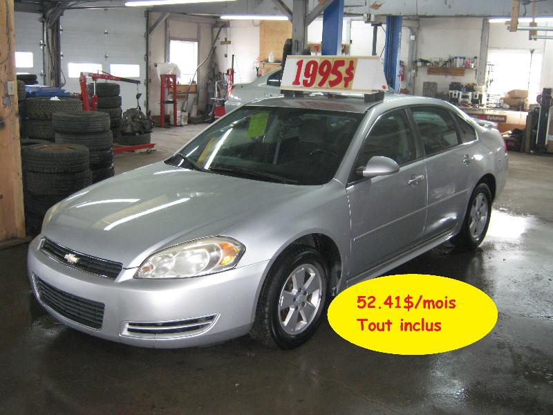 Chevrolet Impala LT 2010 à vendre à Ste-Anne-des-Plaines PETIT BUDGET !!!