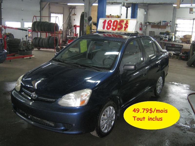 Toyota Echo 2005 à vendre à Ste-Anne-des-Plaines PETIT BUDGET !!!