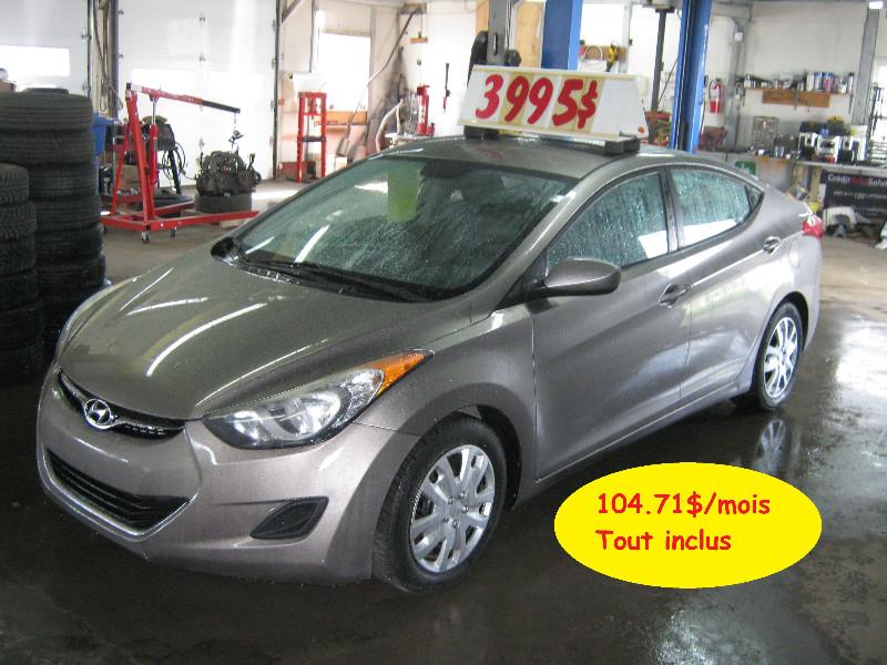 Hyundai Elantra GL 2012 à vendre à Ste-Anne-des-Plaines PETIT BUDGET !!!