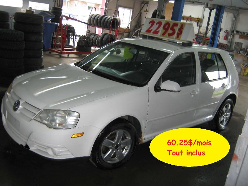 Volkswagen Golf City 2008 à vendre à Ste-Anne-des-Plaines PETIT BUDGET !!!