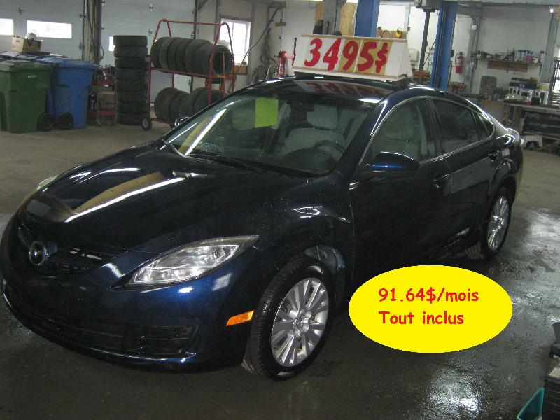 Mazda 6 GS 2009 à vendre à Ste-Anne-des-Plaines PETIT BUDGET !!!