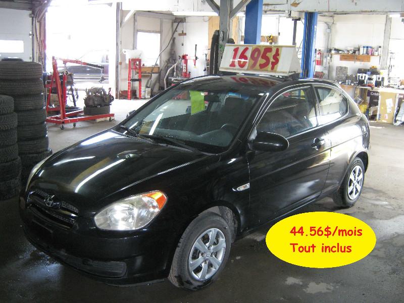 Hyundai Accent GS 2007 à vendre à Ste-Anne-des-Plaines PETIT BUDGET !!!